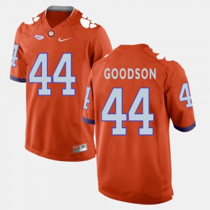 Clemson National Championship #44 For Men's B.J. Goodson Jersey Orange Embroidery College Football 153868-598
