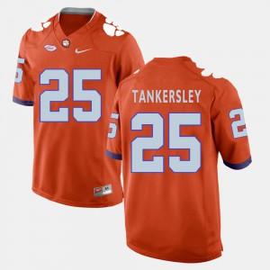 Clemson #25 For Men Cordrea Tankersley Jersey Orange Official College Football 250270-197