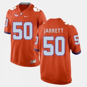 Clemson National Championship #50 For Men's Grady Jarrett Jersey Orange College Football NCAA 517666-428
