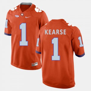 Clemson National Championship #1 Mens Jayron Kearse Jersey Orange College Football Alumni 695531-720