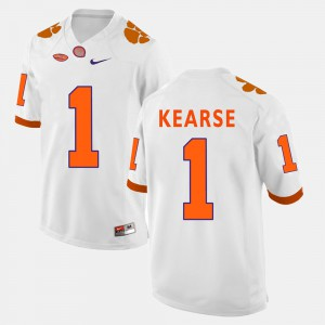 Clemson Tigers #1 Men's Jayron Kearse Jersey White College Football Official 669203-979
