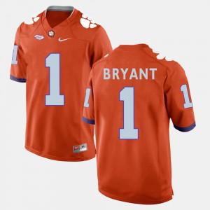Clemson #1 For Men's Martavis Bryant Jersey Orange College Football Player 778191-251