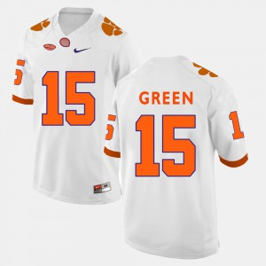 CFP Champs #15 For Men's T.J. Green Jersey White College Football NCAA 310606-364