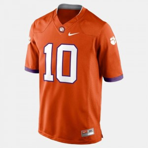 CFP Champs #10 For Men's Tajh Boyd Jersey Orange Stitched College Football 267566-273