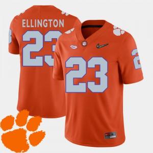 CFP Champs #23 For Men Andre Ellington Jersey Orange University College Football 2018 ACC 824549-163