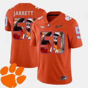 CFP Champs #50 For Men's Grady Jarrett Jersey Orange Alumni Football Pictorial Fashion 726726-571