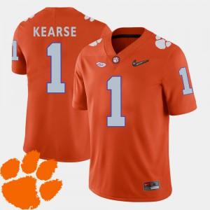 CFP Champs #1 For Men Jayron Kearse Jersey Orange Player 2018 ACC College Football 399333-346