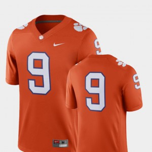 CFP Champs #9 Mens Jersey Orange High School 2018 Game College Football 691423-285