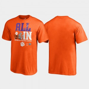 Clemson Tigers Youth T-Shirt Orange Official Endaround College Football Playoff 2018 Cotton Bowl Champions 588402-463