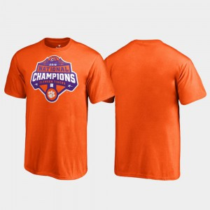 CFP Champs For Kids T-Shirt Orange Stitched Gridiron College Football Playoff 2018 National Champions 409193-225
