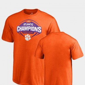 CFP Champs For Kids T-Shirt Orange College 2018 ACC Atlantic Division Champions College Football 853215-456